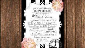 Parisian Bridal Shower Invitations Party Like A French Diva How to Plan A Fabulous Paris
