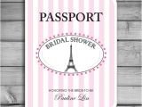 Parisian themed Bridal Shower Invitations Customized Bridal Shower Invitations Paris Parisian