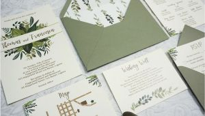 Parts Of Wedding Invitation Parts Of Wedding Invitation Kalidad Prints and Favors
