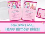 Party City 1st Birthday Invitations Custom One Wild Girl 1st Birthday Invitations Thank You
