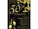 Party City 50th Anniversary Invitations 50th Birthday Party Surprise Party Invitations Zazzle