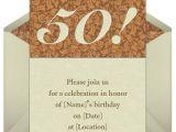 Party City 50th Anniversary Invitations Birthday Invites 50th Birthday Invitation Wording Sample