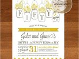 Party City 50th Anniversary Invitations Surprise 50th Wedding Anniversary Invitations Cobypic Com