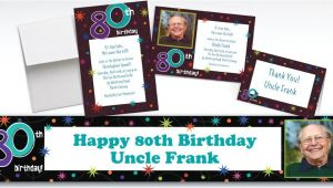 Party City 80th Birthday Invitations Custom the Party Continues 80th Birthday Invitations