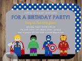 Party City Birthday Invitations Lego Birthday Invitations Party City Invitation