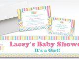 Party City Custom Baby Shower Invitations Custom Baby Brights Baby Shower Invitations & Thank You
