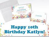 Party City Custom Birthday Invitations Custom Colorful Birthday Invitations Thank You Notes