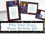Party City Custom Birthday Invitations Custom the Party Continues 50th Birthday Invitations