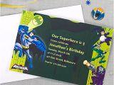 Party City Custom Invites Custom Batman Invitation Idea Party City