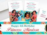 Party City Elena Of Avalor Invitations Custom Elena Of Avalor Invitations Thank You Notes