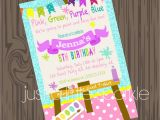 Party City Girl Birthday Invitations Party Invitations Best Paint Party Invitations Art