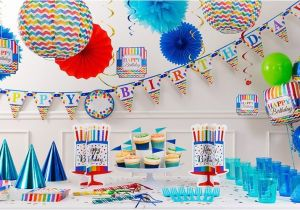 Party City Invitations for Birthdays Bright Dot Chevron Birthday Party Supplies Chevron