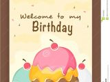 Party Invitation Cards Design Invitation Card Design for Birthday Party Stock Photo