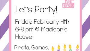 Party Invitation Cards Online Free Free Printable Birthday Invitation Templates