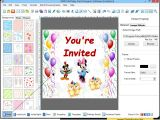 Party Invitation Design software Birthday Card Maker software