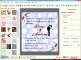 Party Invitation Design software Screenshots Of Wedding Card Designer software to Learn How