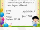 Party Invitation Maker App Kids Birthday Invitation Maker android Apps On Google Play