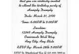 Party Invitation Reminder Template Just A Reminder Humpty Dumpty Birthday Party 4 25×5 5