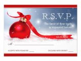 Party Invitation Reply Template Christmas Party Rsvp Templates