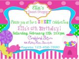 Party Invitation Stores Items Similar to Sweet Shop Candy Party Invitation