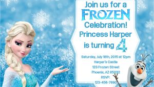 Party Invitation Template Frozen Frozen Birthday Invitation Frozen Birthday by