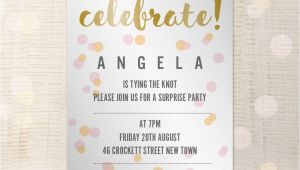 Party Invitation Template Indesign Party Invitation Customisable A5 Indesign Template