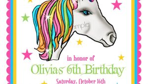 Party Invitation Template Unicorn Unicorn Invitations Unicorn Birthday Party Invitations