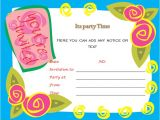 Party Invitation Template Word Birthday Party Invitations Microsoft Word Templates