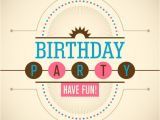 Party Invitation Templates Free Vector Download Birthday Party Invitation Vector Free Download