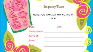 Party Invitation Templates Word 40th Birthday Ideas Birthday Invitation Templates for