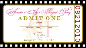 Party Invitation Ticket Template Free Templates for Birthday Invitations Drevio