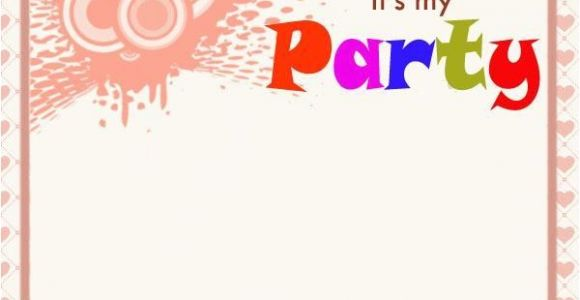 Party Invitations Messages Birthday Invitation Wording Easyday