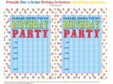 Party Invitations to Print for Free Bnute Productions Free Printable Dots 39 N Stripes Birthday