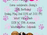 Party Pups Invitations 17 Best Images About Puppy Party On Pinterest themed