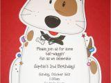 Party Pups Invitations Dog Birthday Party Invitation Party Ideas Pinterest