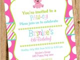 Party Pups Invitations Puppy Party Invitations Puppy Party Invitations for Having