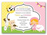 Party Rhymes Invitations Nursery Rhymes Birthday Invitation Split Joint Twin