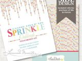 Party Sprinkles Invitations 71 Best Images About Sprinkle Birthday Party theme On