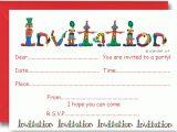 Party theme Invitation Templates Circus Party Invitation Ideas – Bagvania Free Printable