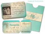 Passport Wedding Invitation Template Passport Wedding Invitation Templates Cloudinvitation Com
