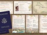 Passport Wedding Invitation Template Philippines Passport Wedding Invitation Booklets Real Passport Style