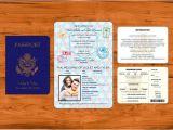 Passport Wedding Invitation Template Philippines Passport Wedding Invitation Template Wedding and Bridal