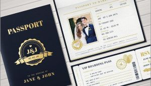 Passport Wedding Invitation Template Uk Passport Invitation Template Download Templates