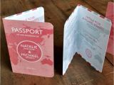 Passport Wedding Invitations Cheap Passport Wedding Invitation by Feel Good Wedding