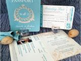 Passport Wedding Invitations Cheap Passport Wedding Invitation Classic Style Wedding Invitation