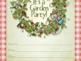 Patio Party Invitations Party Planning Center Free Printable Summer Garden Party