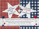 Patriotic First Birthday Invitations Patriotic Party Invitations 4th Of July Birthday Cards