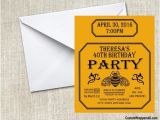 Patron Party Invitation Patron Tequila Birthday Party Invitation