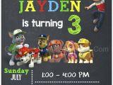 Paw Patrol Birthday Invitations Free Paw Patrol Birthday