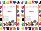Paw Patrol Birthday Invitations Free Printable Paw Patrol Birthday Invitations Birthday Printable